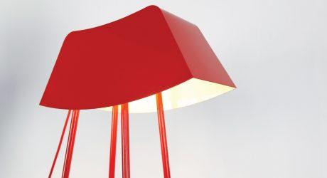 Monsieur: A Floor Lamp That Says Hello