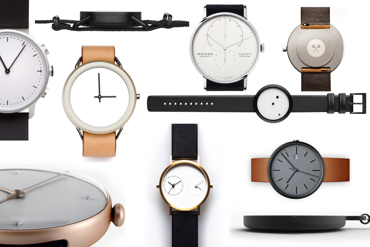 gallery minimal black in watch lyst watches product accessories normal clean asos