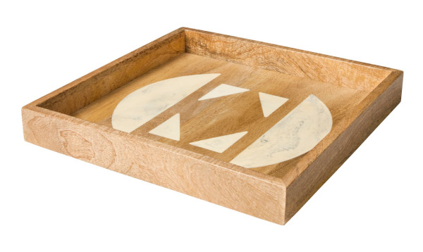 Wood Resin Inlay Tray