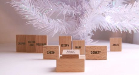 Minimalist Nativity Set