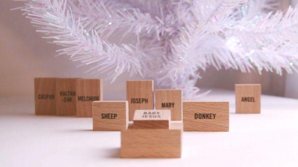 Minimalist Nativity Set