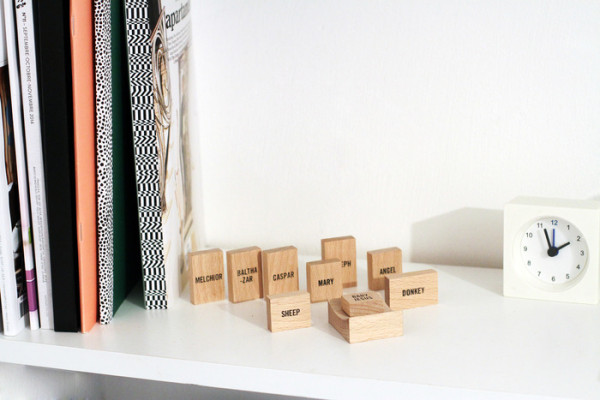Minimalist Nativity Set in style fashion main home furnishings Category