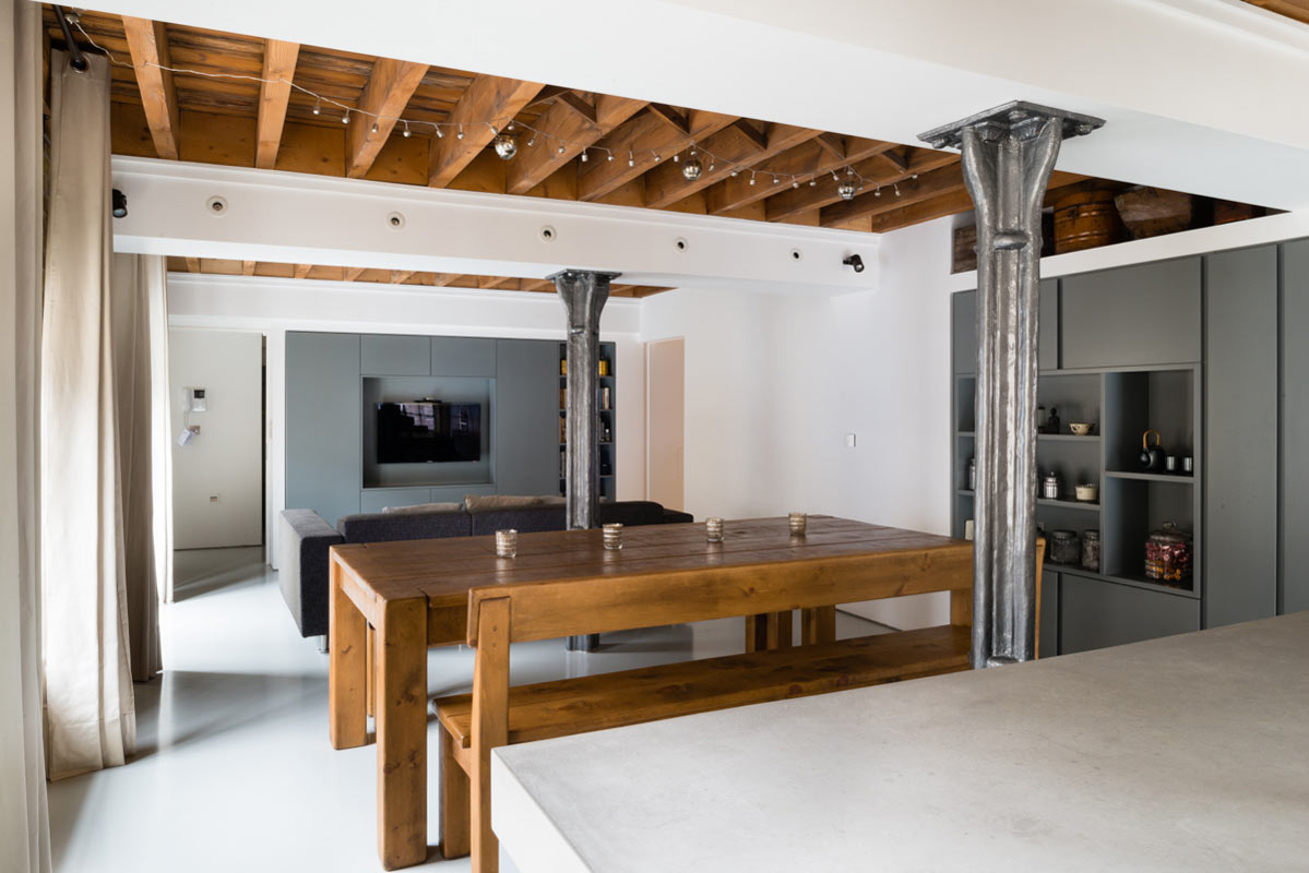 Old warehouse apartment becomes flexible loft   design milk