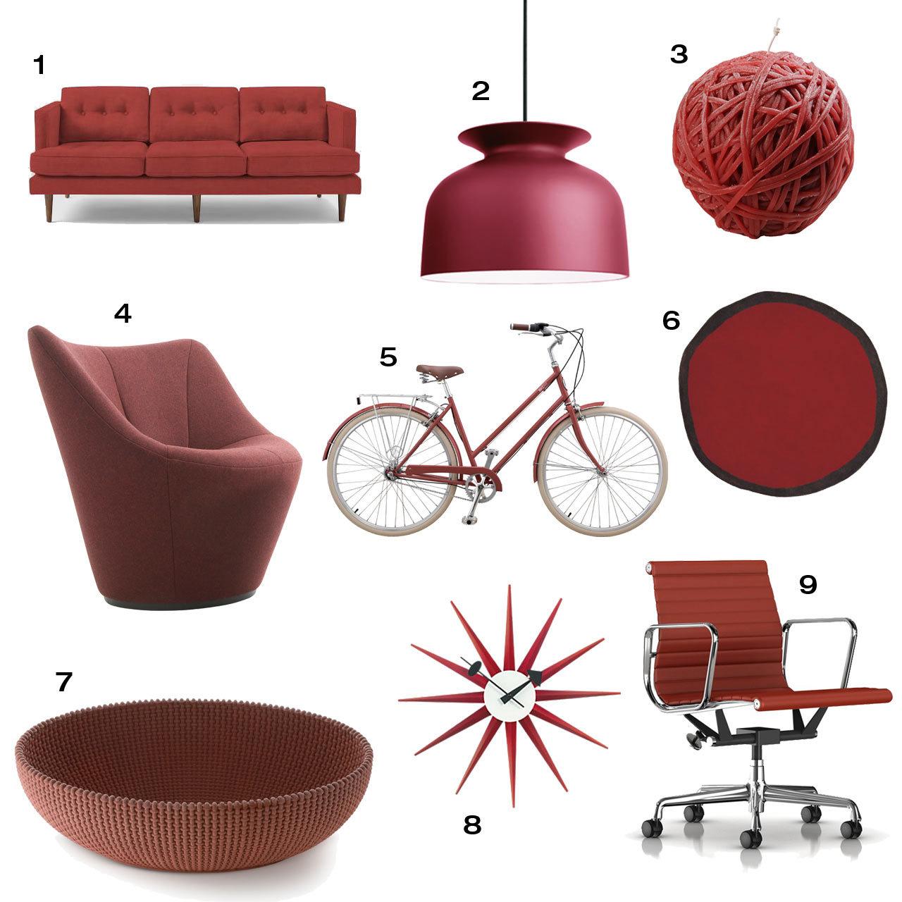 Home Design And Decor Expo 2015: Pantone Color Of The Year 2015: Marsala Home Decor