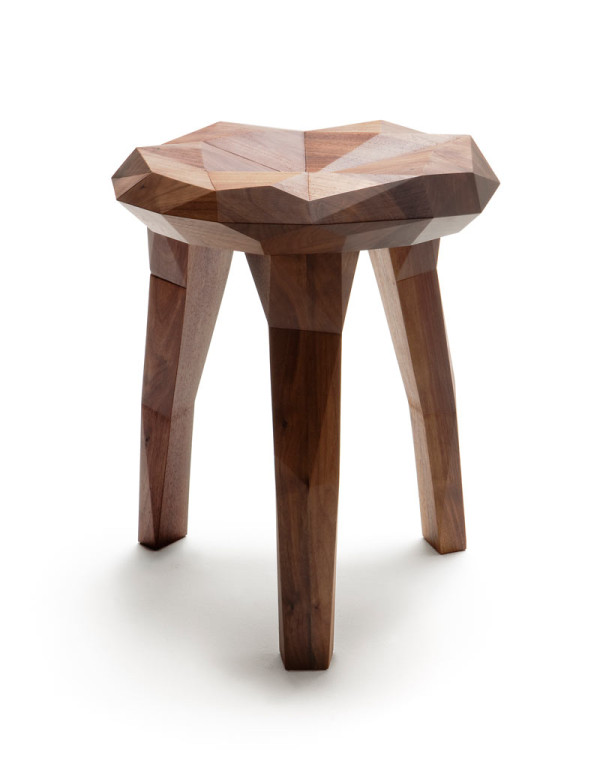 Stockholm stool Nikari 5 STUDIES FOR NATURE 2 600x771 Stockholm: A Stool That Explores Forms