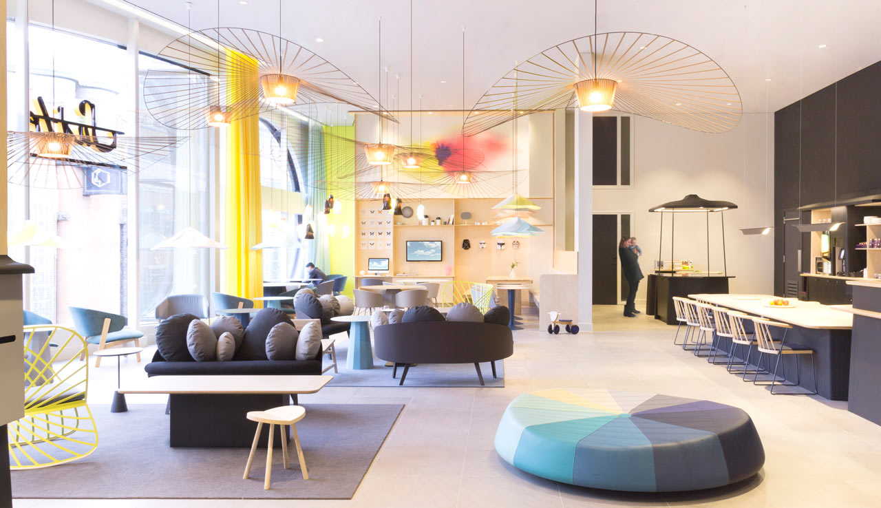 Suite Novotel A Whimsical Hotel Lounge By Constance