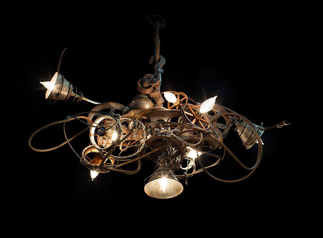 Andy Shulman Creates Beautiful Work Out of Junk [VIDEO]