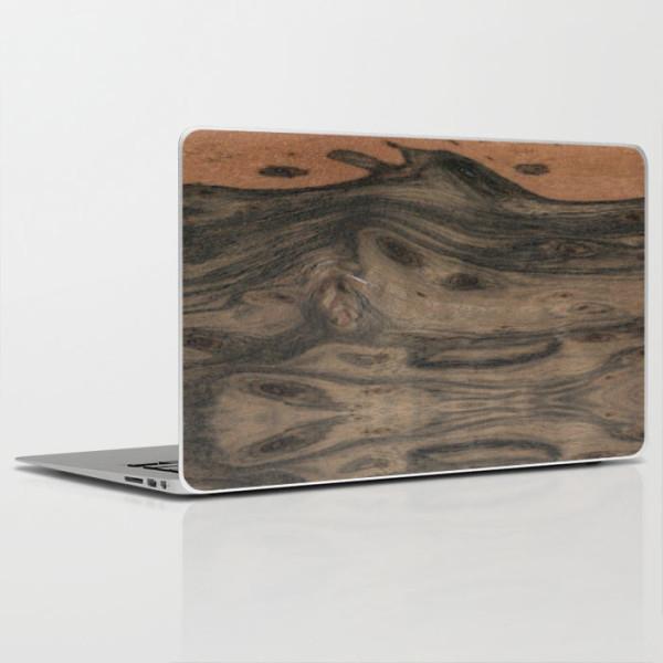 laptop-skin-wood-look