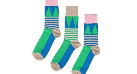 Odd Pears Colorful Fun Socks