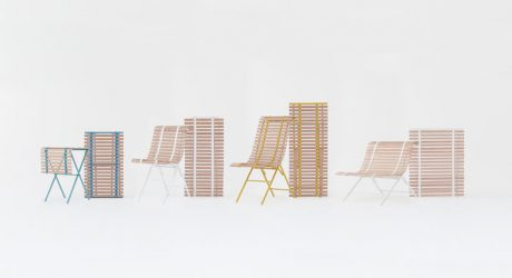 An Outdoor Furniture Collection Inspired by Window Blinds