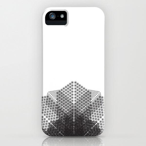 winter-snowflake-minimalist-iphone-case