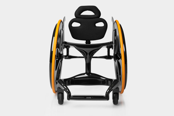 Carbon Black Wheelchair-1