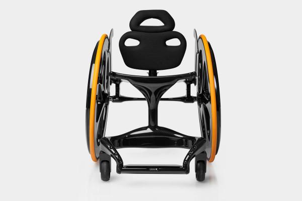 Carbon Black Wheelchair-1