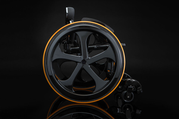 Carbon Black Wheelchair-2