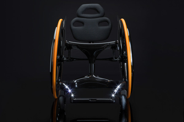 Carbon Black Wheelchair-5