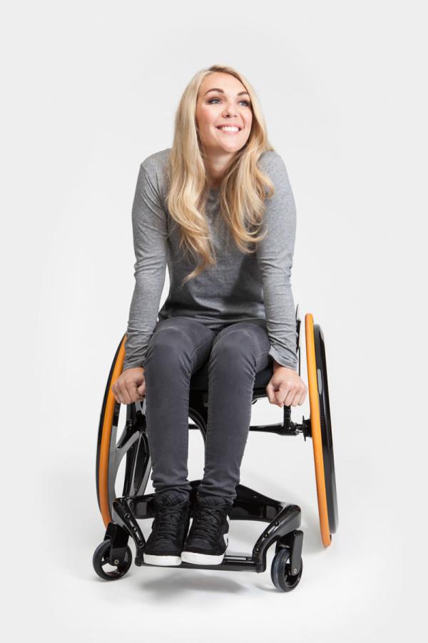 Carbon Black Wheelchair-8