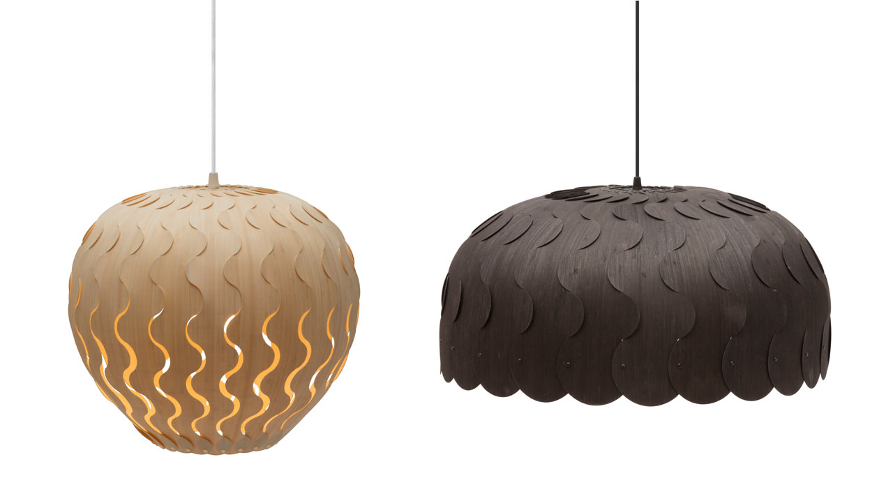 Belle & Beau: The Latest Lighting from David Trubridge
