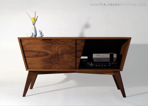Furniture Design Bad designing & building a mid-century inspired console - design milk