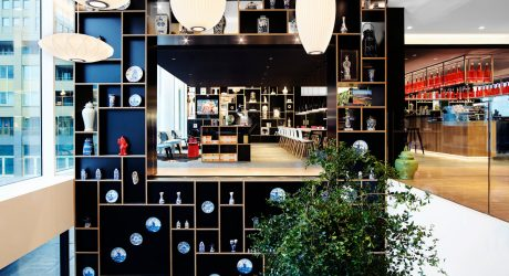 A Bold, Trendy Hotel in Rotterdam