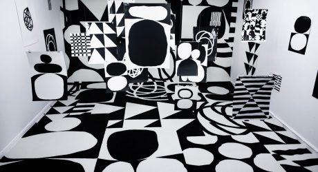 A Bold, Black & White Exhibition in Denmark
