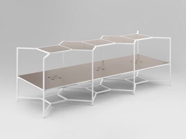 Fantoni- Hub Modular Desk-1