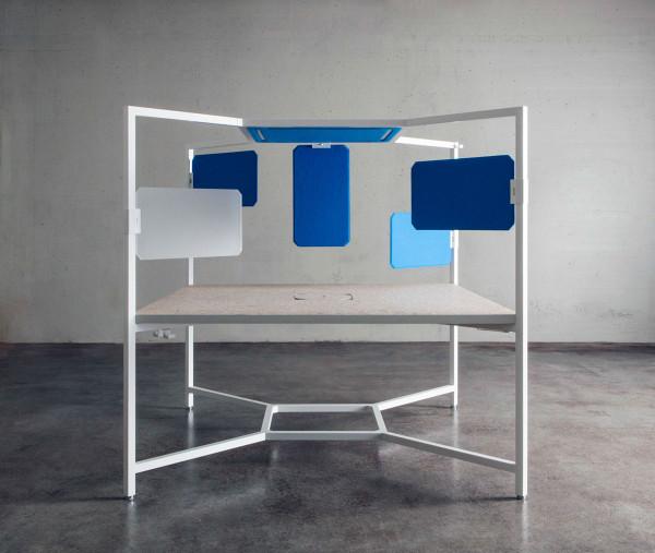 Fantoni- Hub Modular Desk-4