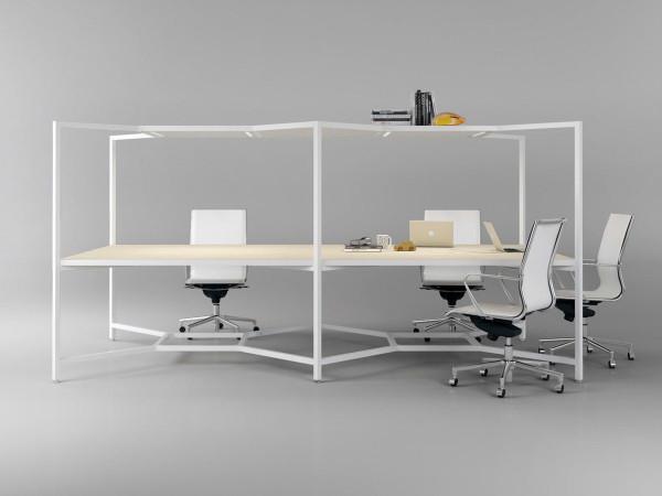 Fantoni- Hub Modular Desk-5