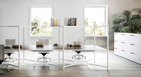 The Hub Desk From Fantoni