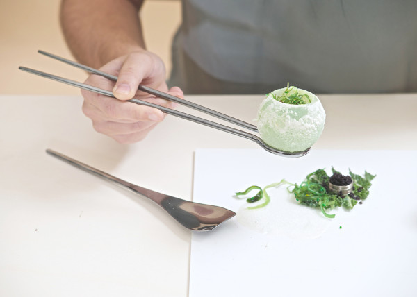 Goma Wakame Lime FU with Sauteed Cabbage and Caviar. Would you eat it?