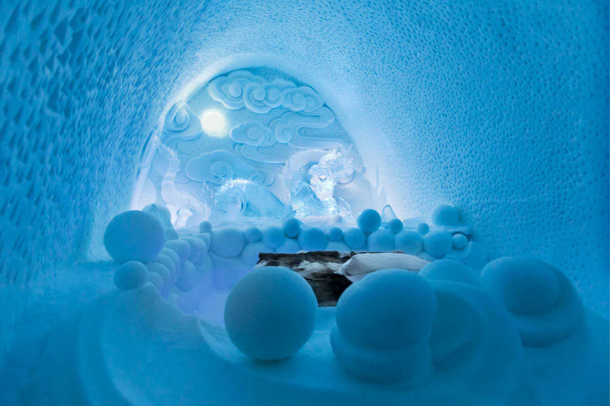 Incredible Designer Suites at the Ice Hotel