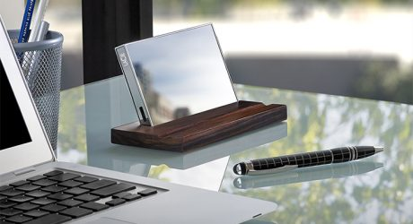 Pauline Deltour's LaCie Mirror Hard Drive Unveiled at CES 2015