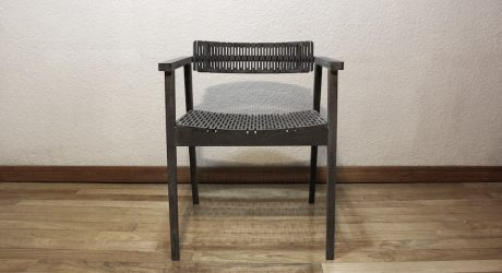 Lindavista: A Modern Chair Made with Folded Valchromat