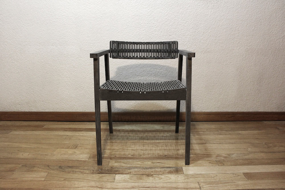 Lindavista: A Modern Chair Made with Folded Valchromat