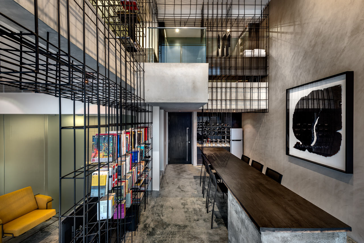This Apartment Has A Giant Cage Inside Design Milk