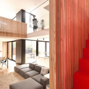 An Old Duplex Becomes a Single Family Home in Montreal