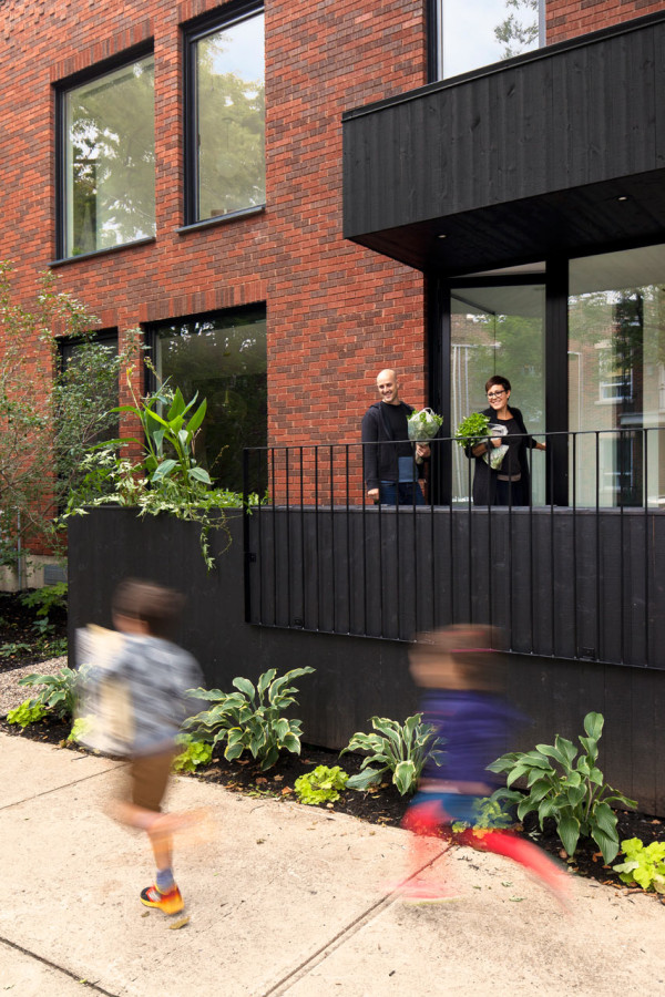 An Old Duplex Becomes a Single Family Home - Design Milk