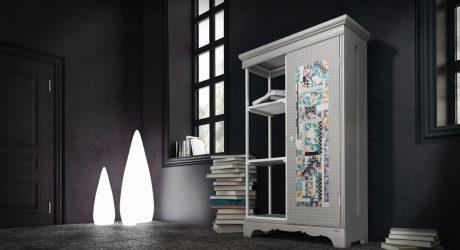 Marocchino: A Half Cabinet by Rossella Ramanzini