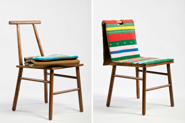 Furniture and Textiles Inspired by the Body