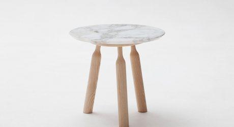 NINNA Table by Carlo Contin for Adentro
