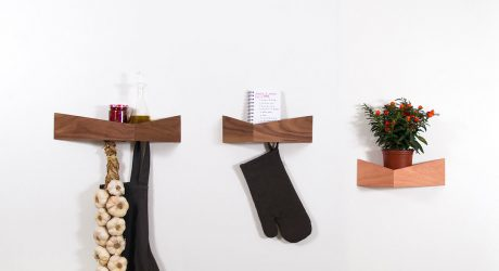 Pelican: A Wall Shelf Inspired by the Bird