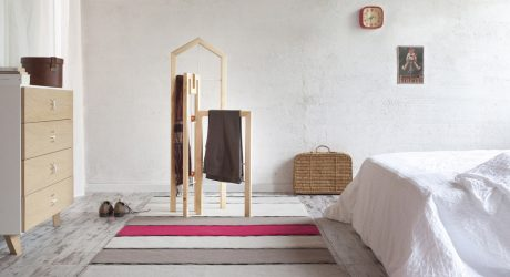 A Valet Stand Inspired By Italian Architecture