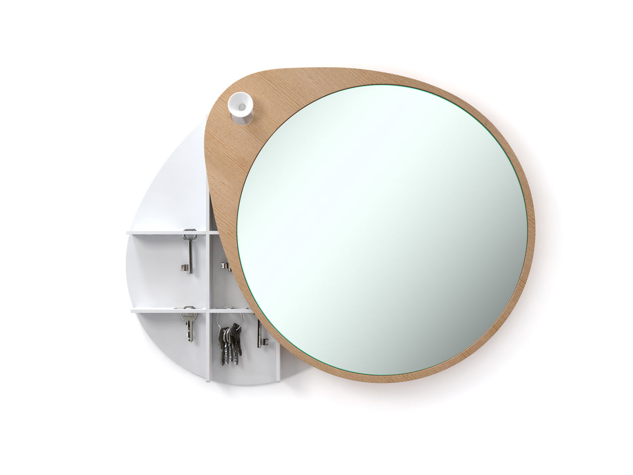 A Mirror With a Secret Cabinet