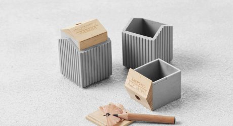 Concrete Goes Soft in These Desk Accessories from TripleLiving