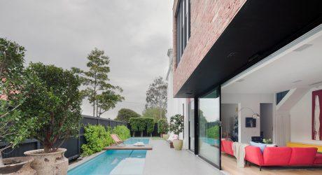 A Serene Home Designed for a Restaurant Owner