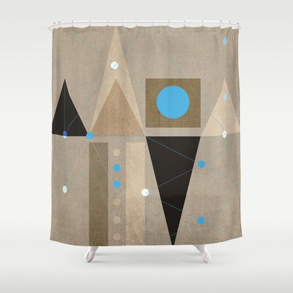 geometric-shower-curtain