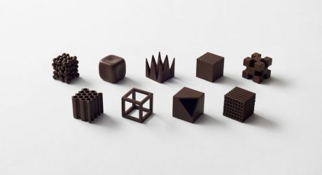 Nendo's Chocolatetexture Lounge Looks Pretty Yummy