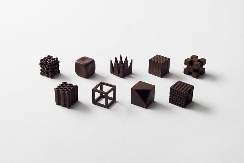 Nendo's Chocolatetexture Lounge Looks Pretty Yummy