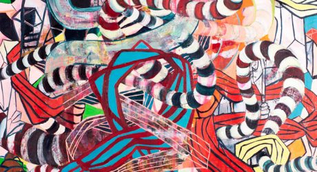 Urban-Inspired Abstract Art by Galen Cheney