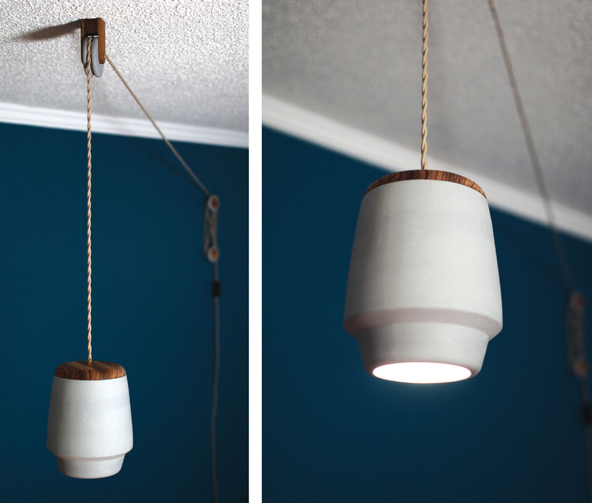 Polly a pulley pendant light design milk polly a pulley pendant light aloadofball Image collections