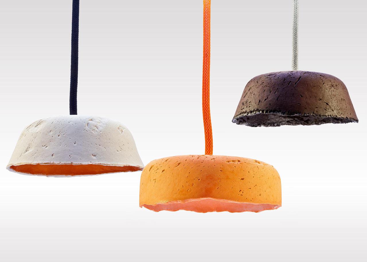 Paperlain Paper Porcelain Pendant L&s ... & Paperlain: Paper Porcelain Pendant Lamps - Design Milk azcodes.com